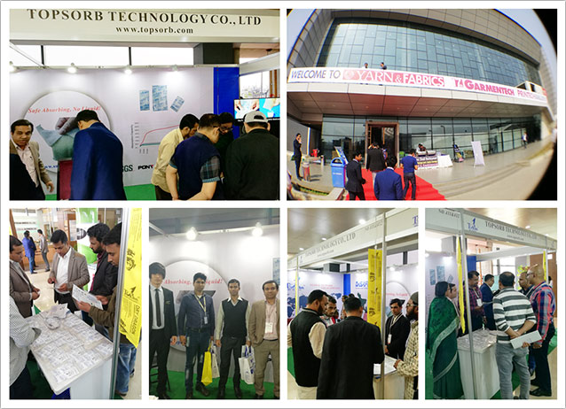 TOPSORB  GARMENTECH Trade Shows in Dhaka, 2018